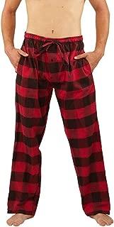 Mens Flannel Pajama Pants - Comfortable Cotton Bottoms Sleep or Loungewear
