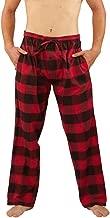 NORTY Mens Flannel Pajama Pants - Comfortable Cotton Bottoms Sleep or Loungewear