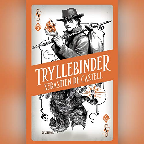 Tryllebinder audiobook cover art