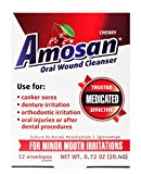 Amosan Oral Wound Cleanser - Cherry