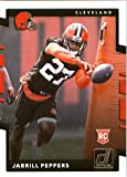 2017 Donruss #390 Jabrill Peppers Cleveland Browns Rookie Football Card. rookie card picture