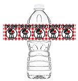 I Do BBQ Waterproof Bottle Labels - 20 Bottle...