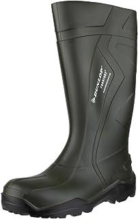 Dunlop Purofort+ Wellington Green Size 44