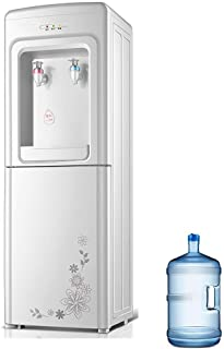 Hot And Cold Water Dispensers With 3 Gallon Bottle, Instant Hot Water Dispenser Bottom Load For Home Office, Kids Safety Lock And Energy Saving, Easy To Use LENG (Color : White, Size : Warm/hot)
