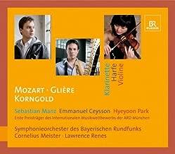 Clarinet Concerto / Harp Concerto / Violin Concerto