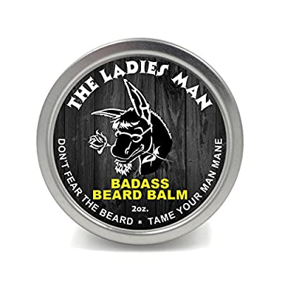 Badass Beard Care Beard Balm 2 oz The Ladies Man by Badass Beard Care