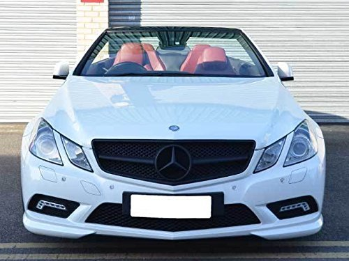 AMG Mercedes Coupe Cab Kühlergrill Einzel Black Matt WE-G0159-A1-BKB-2 für Modelle bis April 2013