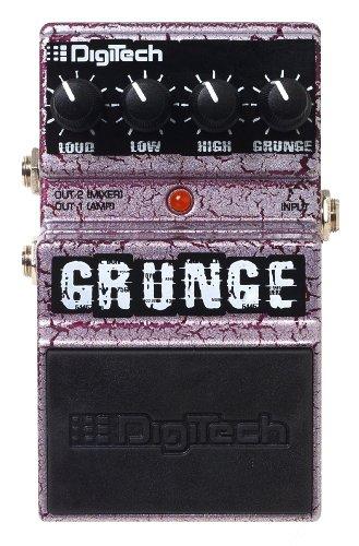 DigiTech DGR Grunge Pedal - Pedal de distorsión para guitarra (batería alcalina)