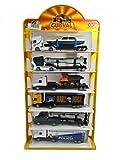 Guisval - Transporte T.I.R., Set de 6 Camiones, de Metal, Escala de 1:87 (07556)