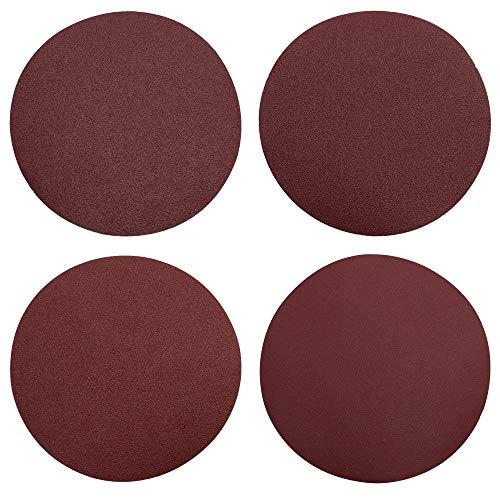 SRunDe 8 Piezas Discos de Pulir Papel de Lija Velcro Redonda grano...