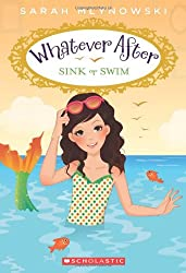 sink or swim book cover featuring a mermaid