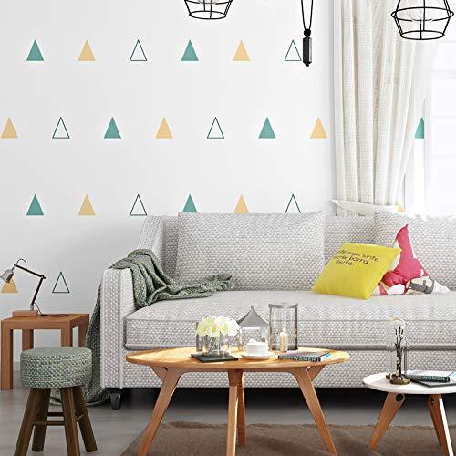 QWESD Papel Pintado de la habitación de los niños Dormitorio niño niña Estilo nórdico gráficos geométricos Respetuoso con el Medio Ambiente sin formaldehído Papel de Pared de Fondo B