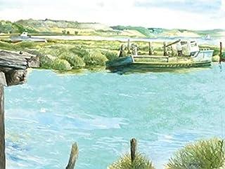 Wellfleet Salt Marsh Poster Print by Gregory Gorham (9 x 12)