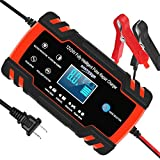 Automotive Battery Charger 12V/8A 24V/4A Trickle Charger Smart Automatic Battery...