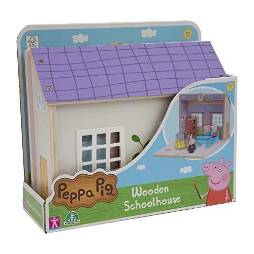 Giochi Preziosi Peppa Pig Scuola legno C/2 Personaggi, PPC67000