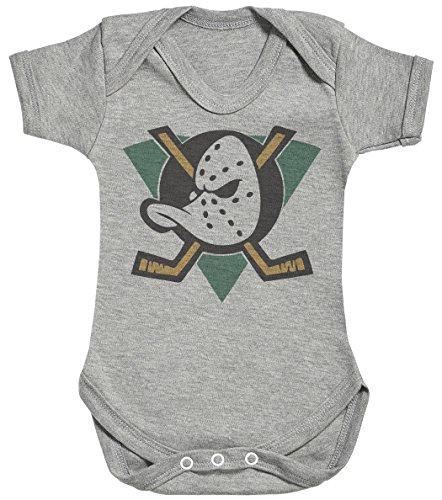 Baby Buddha Mighty Ducks Body bébé - Gilet bébé - 3-6 Mois Gris