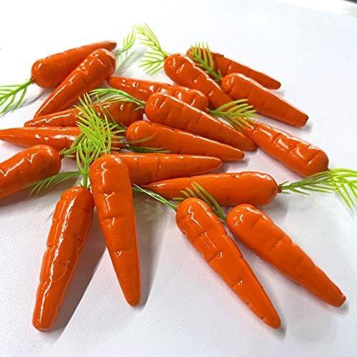 20pcs Easter Dedication Carrots Artificial Happy Carrot excellence Decorations