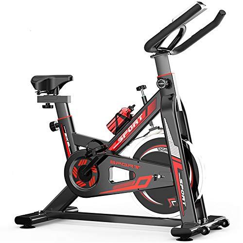 Yiwuhu - Bicicleta de Interior para Ciclismo, Entrenamiento de Bicicleta, frecuencia cardíaca, Fitness, estacionario, con Pantalla LCD, Entrenamiento doméstico con vitalidad cardíaca