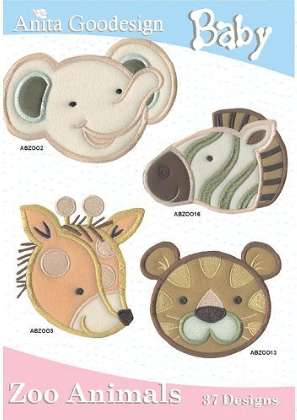 Anita Goodesign Embroidery Designs Cd Baby ZOO Animals