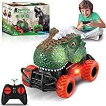 Kids Toys Dinosaur Toy Cars: Dinosaur Toys for Kids 3-5 Remote Control Car | Boy Toys for 3 4 5 6 Year Old Boys RC Cars Toy Truck Toddler Toys Age 2-4 Christmas Birthday Gifts for Boys Girls Age 5-7