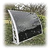 GXFWJD Tejadillo De Protección Carpa Versátil Marquesina para Puertas Y Ventanas Toldos Impermeables Exterior Superficie Sin CosturasImpermeable (Color : White, Size : 80x100cm)