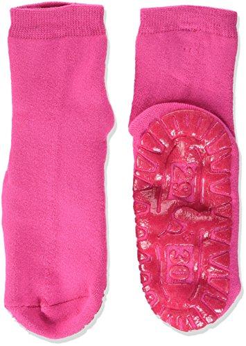 Sterntaler Fliesen Flitzer Soft, Mädchen Socken,Rosa (Magenta 745), Gr.27/28 (Herstellergröße: 36-42 Monate)