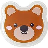 タカギ産業 使い捨て容器 アニマル幼稚園/透明クマ 蓋 900枚入 TY-1