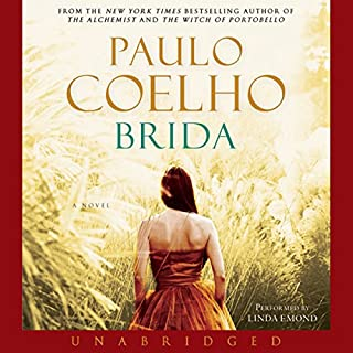Brida audiobook cover art