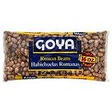 Goya Dry Roman Beans - 16 oz. cans, 24 cans per case