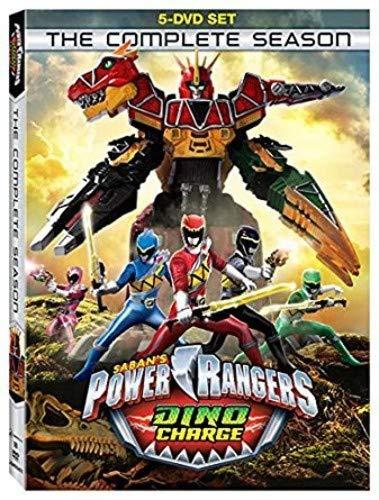 Power Rangers Dino Charge: The Complete Season (5 Dvd) [Edizione: Stati Uniti] [Italia]