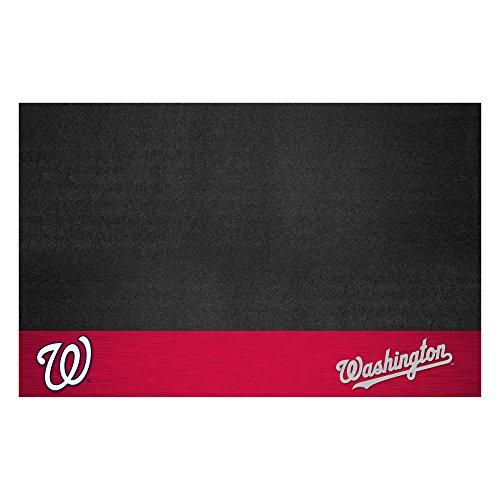 Fanmats 12173 MLB Washington Nationals Vinyl Grill Mat