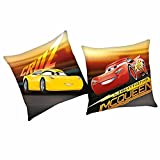 Cars Cruz | Kinder Kissen 40 x 40 cm | Disney Kuschelkissen | Dekokissen