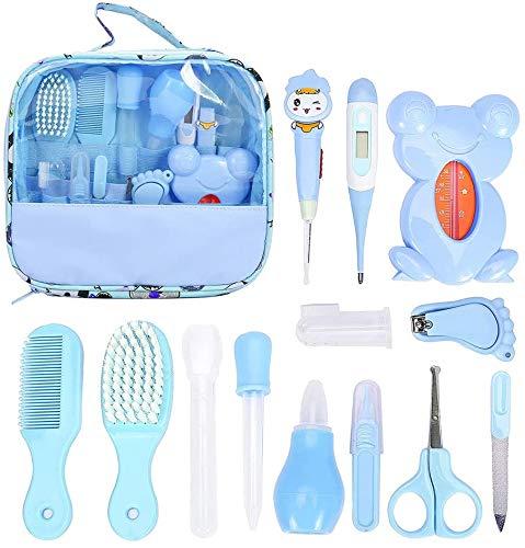 Kit de cuidado de bebé de 13 piezas, kit de cuidado de la salud y el cuidado del bebé, juego completo de cuidado de la salud del bebé, juego de seguridad el mejor paquete para recién nacidos, niños