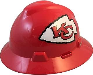 NFL V-Gard Full Brim Hard Hat, Kansas City Chiefs