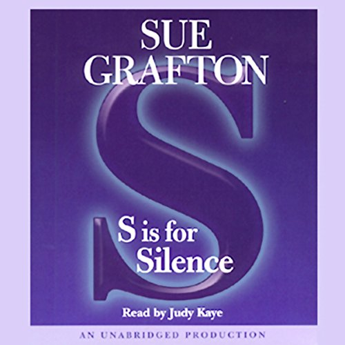 S is for Silence audiobook cover art