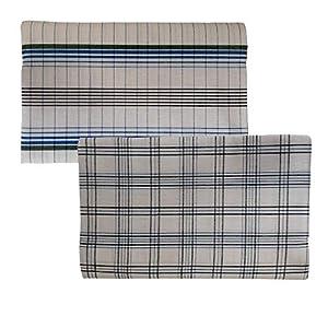 Riyashree men's cotton lungi for men free size 2 meter Flungi 010 011