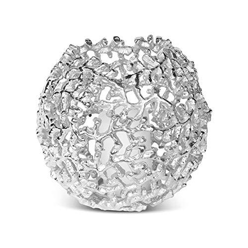 Culinary Concepts Coral Globe Votive - Silver Finish