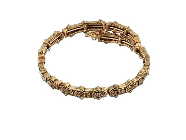 Alex and Ani Hand of Fatima Wrap Bracelet V17WHOFRG