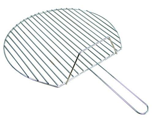 Imex El Zorro 70873 - Parrilla cincada redonda, diámetro 70 cm, color plateado