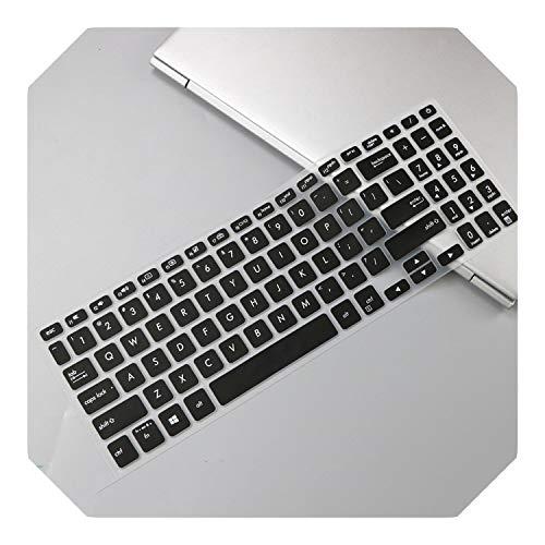 Funda para teclado ASUS VivoBook 15 X512FB X512FL X512FJ X512DK X512UF X512UA X512FA X512da X512UB X512 de 15,6 pulgadas, color negro