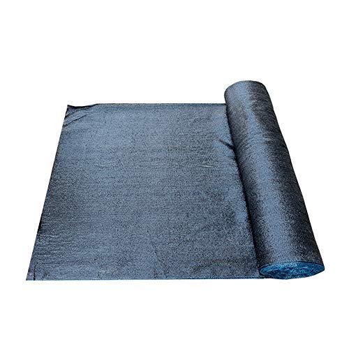 YXX-Filet d'ombrage Filet d'ombrage à 80% pour la couverture végétale de fleurs de jardin, filet résistant aux UV de maille de petit pain noir pour la pergola/le porche (Size : 8mx50m)