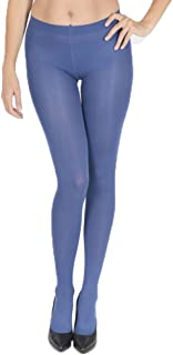 Soft Opaque Matt Long Leggings Microfibre 60 Denier Black Hosiery Tomi S M L