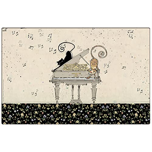 Set de table Chats sur Piano collection Bug Art