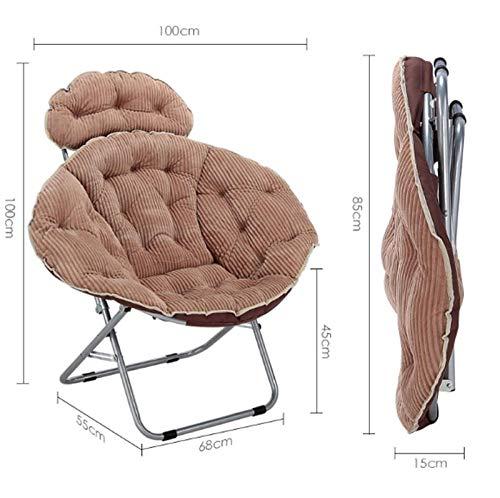 Maanstoel Draagbare fauteuil Maanstoel Ronde stoel Tuinstoel Dik Afneembaar en wasbaar Gemakkelijk mee te nemen Luie mensen om te ontspannen