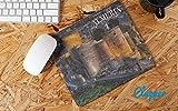 Clapper Alfombrilla de Raton Almeria Andalucia para Ordenador - Suave extendido Agua Resistente Tela de Superficie, Base de Agarre de Goma Antideslizante, Se Adapta a Todos los Tipos de ratón.