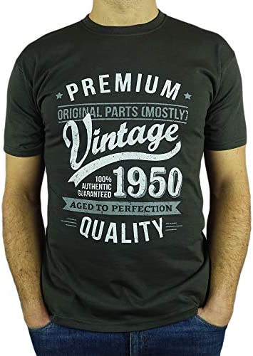 My Generation Gifts 1950 Vintage Year - Aged to Perfection - 70 Cumpleaños Años