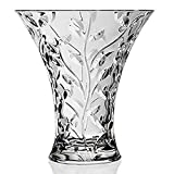 RCR Crystal 'LAURUS' Vase 11' - Made in Italy