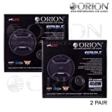 """Two Pair for ORION CAR AUDIO CTK-655 6.5"""" Component Set CAR Speakers"""