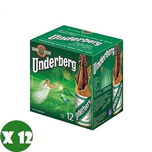 UNDERBERG AMARO 12 MIGNON Flaschen aus 2 CL DIGESTIVE OF AROMATIC HERBAL