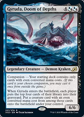 Magic: The Gathering - Gyruda, Doom of Depths - Promo Pack - Ikoria: Lair of Behemoths